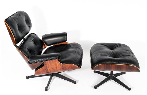 Lounge chair charles and ray eames for Mobilier international eames